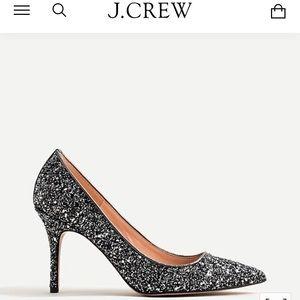 Jcrew Elsie Pumps In Glitter
